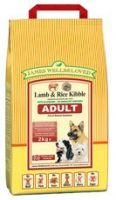 James Wellbeloved Adult Lamb & Rice 15kg