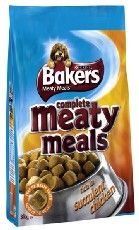 Bakers Complete Dog Adult Meaty Meals Chicken 1kg