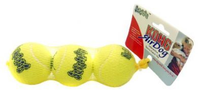 Air Kong Squeaker Ball Regular 3 Pack