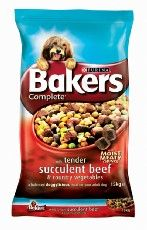 Bakers Complete Dog Adult Beef 14kg