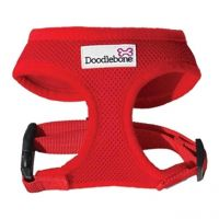 Doodlebone Harness  Small Red