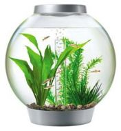 Baby Biorb 15 Litre Aquarium Silver With Standard LED Lighting