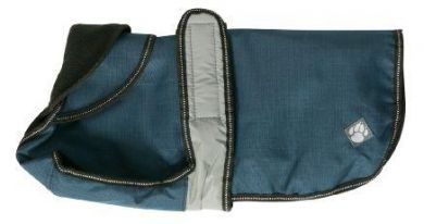 Danish Design 2 in 1 Dog Coat Blue