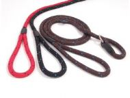 Rosewood Rope Slip Lead Black/Blue 64