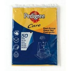 Pedigree Easi-Scoop Poop Scoop Replacement Bags Pack of 50