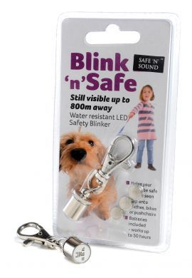Blink 'n' Safe Flashing Dog Tag