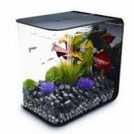 Biorb Flow 15 Litre Aquarium Black With Standard LED Lighting