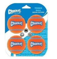 Chuckit! Tennis Ball Dog Toy Size: Medium 4 Pack