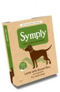 Symply Wet Food Tray Adult Lamb & Rice 7 pack